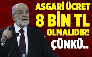 """Saadet Partisi'nden asgari ücret 8 bin 85 TL olsun çağrısı! """"Asgari ücret 8 bin TL olsun çünkü.."""""""