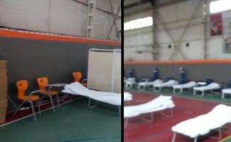Salgında spor salonu hastaneye mi çevrildi! İzmir Valiliği duyurdu