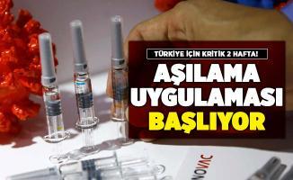 Türkiye'de 2 hafta sonra corona virüs aşılaması başlıyor!