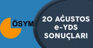 20 Ağustos E-YDS Sonuçları Açıklandı