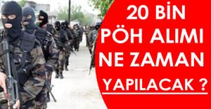 20 Bin Polis Özel Harekat ( PÖH ) Alımı Ne Zaman Yapılacak ? ( İşte Detaylar )