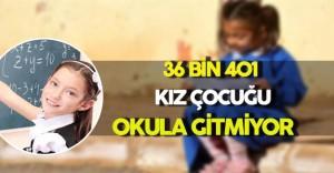 36 Bin 401 Kız Çocuğu Hiçbir Okula Gidemiyor