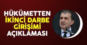 AB Bakanı Çelik'ten İkinci Darbe Girişimi Açıklaması