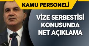 """AB Bakanı Net Konuştu: """" Vize Serbestisi Konusunda Tarih Verilmezse!"""""""