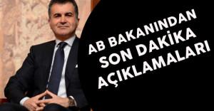 """AB Bakanı Ömer Çelik:""""PKK etnik temizlik yapıyor"""""""