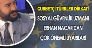 AB Ülkelerinde Yaşayan Türk Vatandaşları DİKKAT!