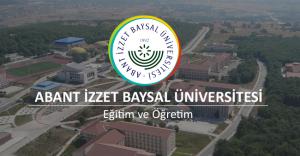 Abant İzzet Baysal Üniversitesi 10 Akademik Personel Alımı