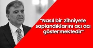 """Abdullah Gül'den Güvenlik Eleştirisi : """"Önleyici Tedbirleri..."""""""