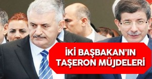 Ahmet Davutoğlu ve Binali Yıldırım'ın Taşeron Müjdeleri ve Konuşmaları