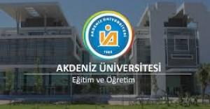 Akdeniz Üniversitesi Uzman Personel Alımı