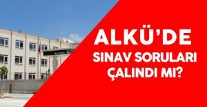 ALKÜ 'de Sınav Sorularının Çalındığı İddiası Üzerine 15 Kişi Gözaltına Alındı