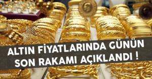 Altın Fiyatlarında Günün Son Rakamları Açıklandı