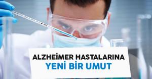 Alzheimer Hastalarına Yeni Bir Umut