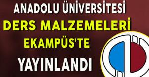 Anadolu Üniversitesi Ders Malzemeleri Anadolum eKampüs'te