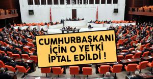 Anayasa değişikliği teklifinde flaş gelişme: Cumhurbaşkanı'nın yetkisi iptal edildi