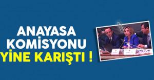 Anayasa Komisyonu yine karıştı