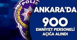 Ankara Emniyet Müdürlüğü'nde 900 Emniyet Personeli Açığa Alındı