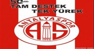 Antalyaspor Kulübü 50.Yılına Özel Bayrak Kampanyası Başlattı