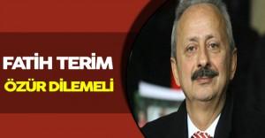 """Arda' ya Destek Geldi: """" Fatih terim özür dilemeli. """""""