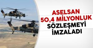 ASELSAN Ve Savunma Sanayi Müsteşarlığı 50,4 milyon Dolarlık Sözleşme İmzaladı