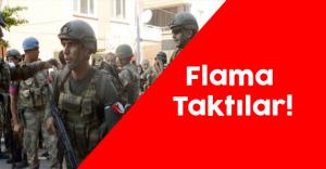 Asker ile Polis Birbirini Tanımak Amacıyla Kollarına Flama Taktı
