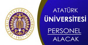 Atatürk Üniversitesi Personel Alımı Yapacak