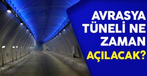 Avrasya Tüneli Açılışı İçin Sayılı Günler ( Tünel Ne Zaman Açılacak ? )