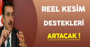 Bakan Tüfenkci Reel Kesim Desteklerinin Artacağını Açıkladı !
