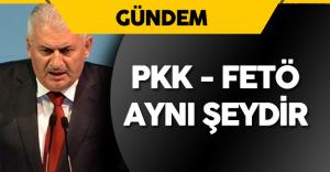 """Başbakan Binali Yıldırım : """" PKK , FETÖ Bunlar Aynı Şeydir"""""""
