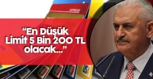 """Başbakan Yıldırım: """" En Düşük Limit 5 Bin 200 TL Olacak"""""""