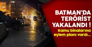 Batman'da eylem hazırlığındaki terörist yakalandı