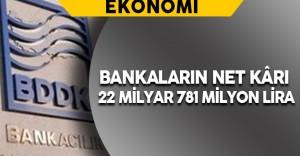 BDDK Bankaların Net Kârını Açıkladı