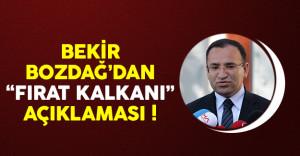 Bekir Bozdağ'dan 'Fırat Kalkanı' açıklaması