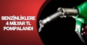 Benzin İstasyonlarında Kredi Kartları ile 4 Milyar TL Harcandı