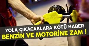 Benzin Ve Motorine Zamdan Sonra Yeni Fiyatlar Ne Oldu ?