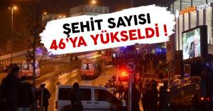 Beşiktaş'ta yaşanan bombalı saldırıda şehit sayısı arttı