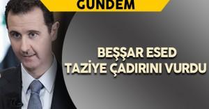 Beşşar Esed Taziye Çadırını Vurdu : 20 Ölü