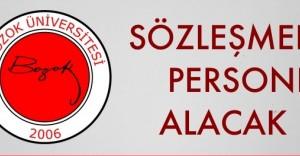 Bozok Üniversitesi Sözleşmeli Personel Alım İlanı 2016