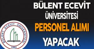 Bülent Ecevit Üniversitesi Personel Alım İlanı