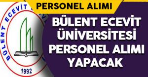 Bülent Ecevit Üniversitesi Sözleşmeli Personel Alacak