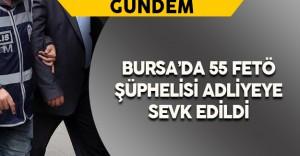 """Bursa'da 5 """"Emniyet İmamı"""" ile 50 Emniyet Mensubu Adliyeye Gönderildi"""