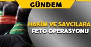 Bursa'da Hakim ve Savcılara FETÖ Operasyonu