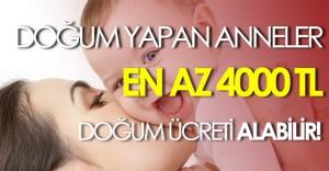 Çalışan, Hamile Anneler En Az 4000 TL Doğum Ödeneği Alabilirler