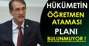 Ceyhun İrgil: Hükümetin Öğretmen Atama Planı Yok!