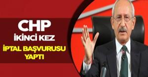 CHP, AYM' ye Başvurusunu İkinci Kez Gerçekleştirdi