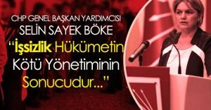 """CHP Genel Başkan Yardımcısı Böke : """" Gerçek İşsiz Sayısı 5 Milyon 782 Bin"""""""