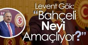 """CHP Grup Başkanvekili GÖK:"""" Bahçeli Başkanlık Sistemi Tartışmalarını Başlatacağına..."""""""