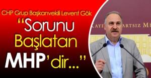 """CHP Grup Başkanvekili Levent Gök : """" MHP Destek Olacak Mı? Olmayacak Mı?"""""""