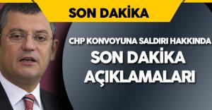 CHP Grup Başkanvekili Meclis'te 'CHP Konvoyuna Saldırı' Hakkında Açıklamalarda Bulundu