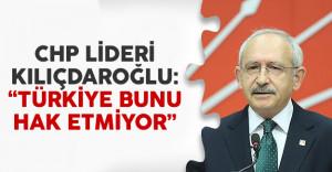 CHP Lideri Kılıçdaroğlu'ndan İzmir saldırısı açıklaması
